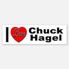 I Love Chuck Hagel Bumper Bumper Bumper Sticker
