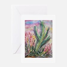 Saguaro cactus! Southwest art! Greeting Card