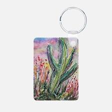 Saguaro cactus! Southwest art! Keychains