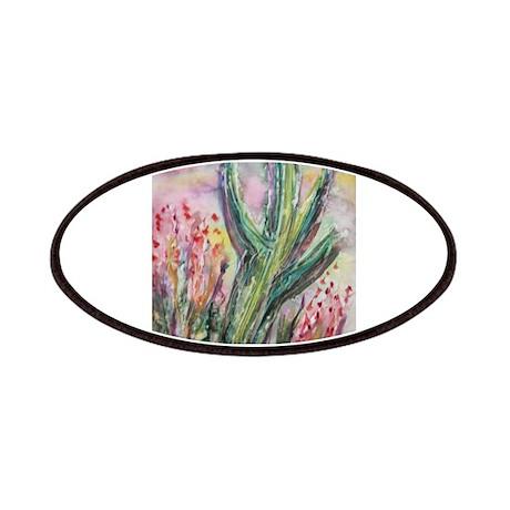 Saguaro cactus! Southwest art! Patches