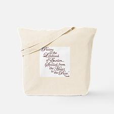 Cute Poetry Tote Bag