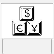 Money Yard Sign