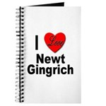 I Love Newt Gingrich Journal