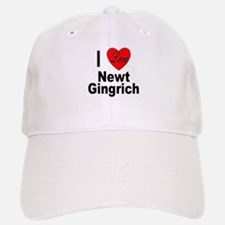 I Love Newt Gingrich Baseball Baseball Cap