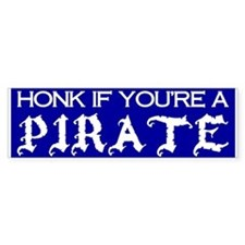 Authentic Ye Old Pirate Bumper Bumper Sticker