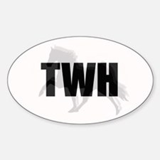 Tennessee Walking Horse Oval Decal