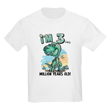 3 Million Years Old Kids Light T-Shirt