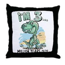 3 Million Years Old Throw Pillow