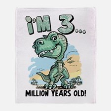 3 Million Years Old Throw Blanket
