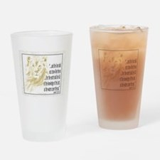 Christian Scripture Drinking Glass