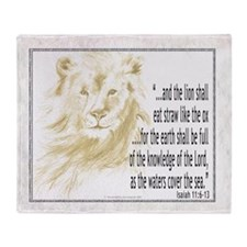 Christian Scripture Throw Blanket