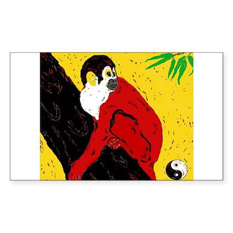 Repulse The Monkey Sticker (Rectangle)