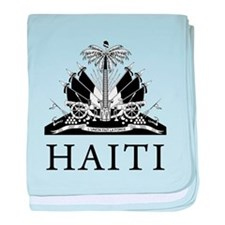 Haiti Coat Of Arms baby blanket
