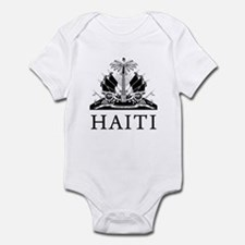 Haiti Coat Of Arms Infant Bodysuit
