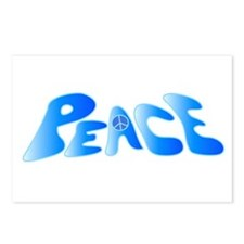 Groovy Peace Postcards (Package of 8)