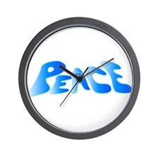 Groovy Peace Wall Clock