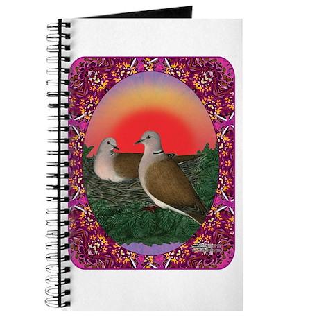 Doves Framed Journal