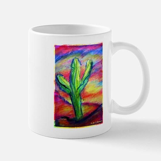 Saguaro Cactus, Southwest art! Mug