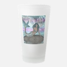 Sparkling mermaid Frosted Drinking Glass