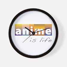 Anime is Life Wall Clock