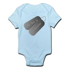 My Son is a Soldier Infant Bodysuit