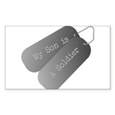 My Son is a Soldier Decal