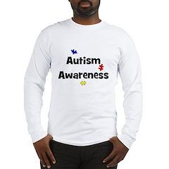 Autism Awareness (black) Long Sleeve T-Shirt