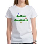 Autism Awareness (green) Women's T-Shirt