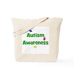 Autism Awareness (green) Tote Bag