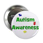 Autism Awareness (green) Button