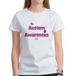 Autism Awareness (pink) Women's T-Shirt