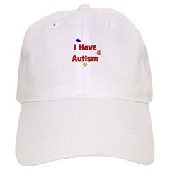 I Have Autism (red) Baseball Cap