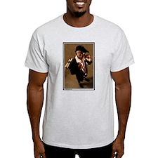 Naughty Schoolboy Ash Grey T-Shirt
