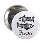 Pisces Symbol Button