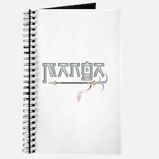 Manga with Blades Journal