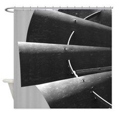 Windmill Blades Photograph Shower Curtain
