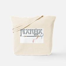 Manga with Blades Tote Bag