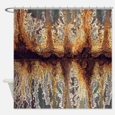 Rust And Corrosion Shower Curtain
