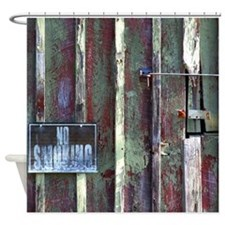 No Smoking Photograph Shower Curtain