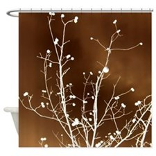 Walnut Trees Design Shower Curtain