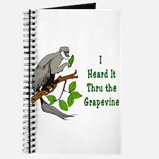Heard It Through the Grapevine Journal