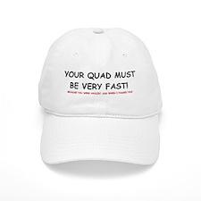 Your Quad WHITE CAP