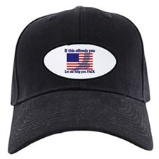Flag Eagle Patriot Baseball Hat