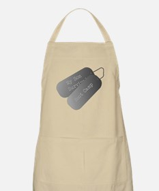 My son survived boot camp Apron