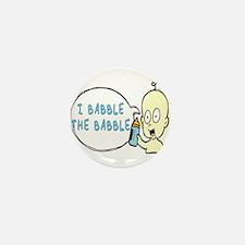 I Babble The Babble Mini Button (100 pack)