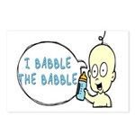 I Babble The Babble Postcards (Package of 8)