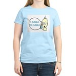 I Babble The Babble Women's Light T-Shirt