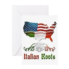 American Italian Roots Greeting Card