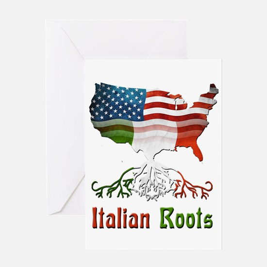 American Italian Roots Greeting Card