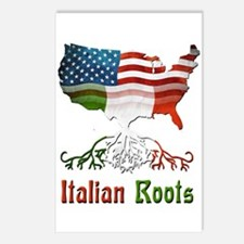 American Italian Roots Postcards (Package of 8)